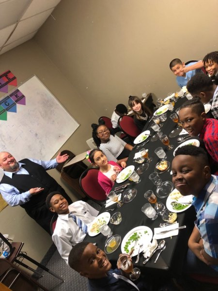 Mr. Juan's Formal Lunch with Elementary