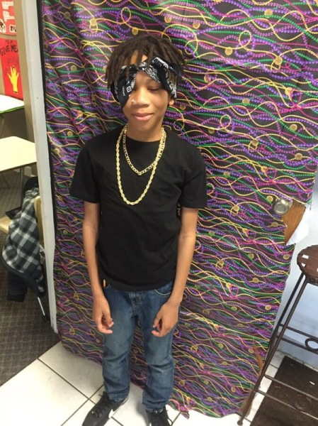 Tupac Visiting for Black History Projects