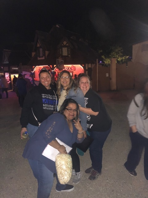 Some of the Ladies of CRA at Screams